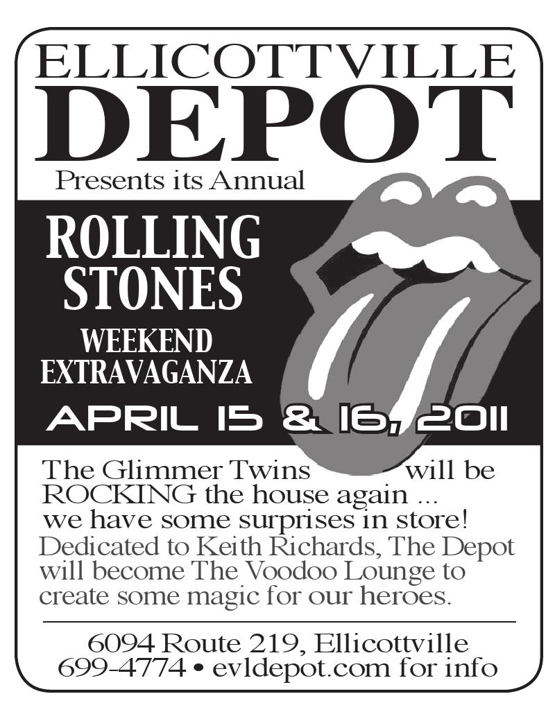 Rolling Stones weekend