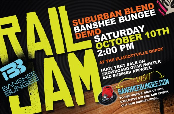 Suburban Blend Rail Jam at Fall Fest